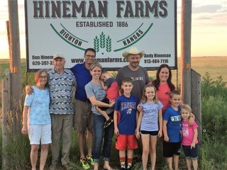 Kansas Rep. Don Hineman, second from left, and his family. (Submitted by Don Hineman to Kansas Reflector)