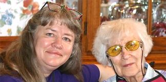 Linda Mason, left, has frequently advocated on her mother's behalf after encountering issues in nursing facilities.
