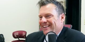 U.S. Senate candidate Kris Kobach says on the Kansas Reflector podcast that he doesn't expect a repeat of the 2018 Twitter endorsement he received from President Donald Trump. (Sherman Smith/Kansas Reflector)