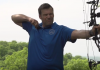 "In his video ""Transathletes: Unfair to our children,"" Kris Kobach demonstrates his skills at archery, ""one of the very, very few sports, in which men and women, boys and girls, can compete on a completely equal footing."""