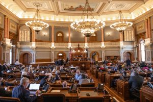The 2020 Kansas Legislature rebuffed an attempt in the House to revise a state law blocking anyone from receiving unemployment benefits for five years if accused of intentional or inadvertent fraud of the system. (Nick Krug for Kansas Reflector)