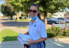 Amanda Beckley has been a letter carrier in Kansas for 19 years — first in Wichita and for the past eight years in Garden City. (Submitted by Amanda Beckley to Kansas Reflector)