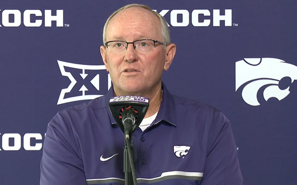 Kansas State University athletic director Gene Taylor said the decision to play this fall is in line with the desires of players, coaches and administrators (Noah Taborda/Kansas Reflector)