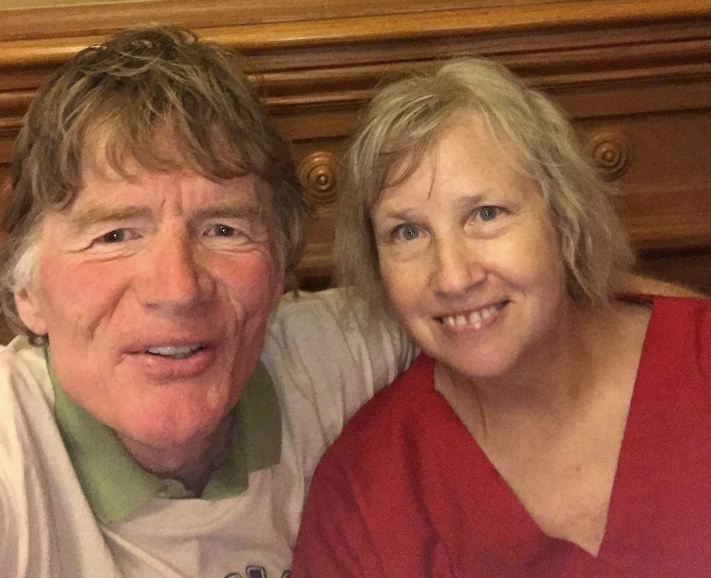 Mark Pringle and his wife, Mary Jane Shanklin, say the pandemic has exacerbated issues that already existed in farming communities (Submitted)