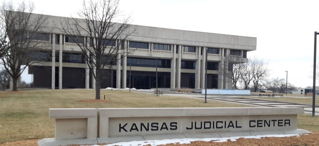 The Kansas Supreme Court issued a stay of a ruling by a Johnson County judge who declared the state's new emergency management law unconstitutional. The attorney general is appealing the lower court decision. (Tim Carpenter/Kansas Reflector)