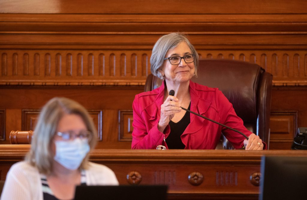 Outgoing Senate President Susan Wagle, a Wichita Republican, ends a 30-year career in the Legislature with a plea that be vigilant protecting the vision and the founding principles that have made America the most prosperous and entrepreneurial nation on earth.(Kansas Reflector)