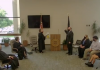 "Keynen ""KJ"" Wall Jr. becomes the newest Kansas Supreme Court justice during a small, socially distanced swearing in ceremony Monday at the Kansas Judicial Center. (Screenshot from live stream)"