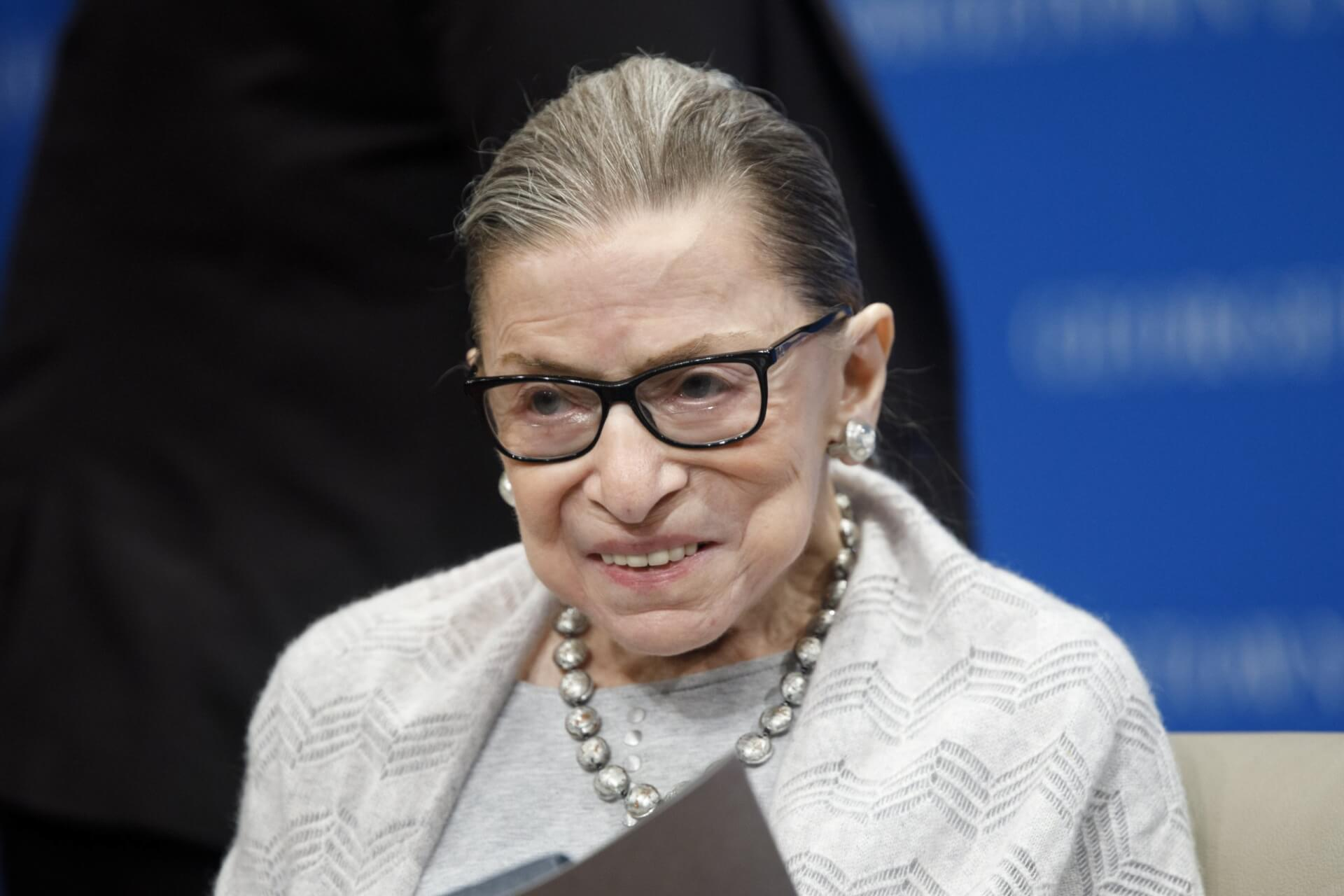 RBG is gone. This is why we fight.