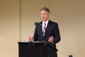 U.S. Rep. Roger Marshall, a Great Bend Republican and the GOP nominee for U.S. Senate, says President Donald Trump's nominee for the U.S. Supreme Court should be put to a vote in the Senate. (Submitted/Kansas Reflector)