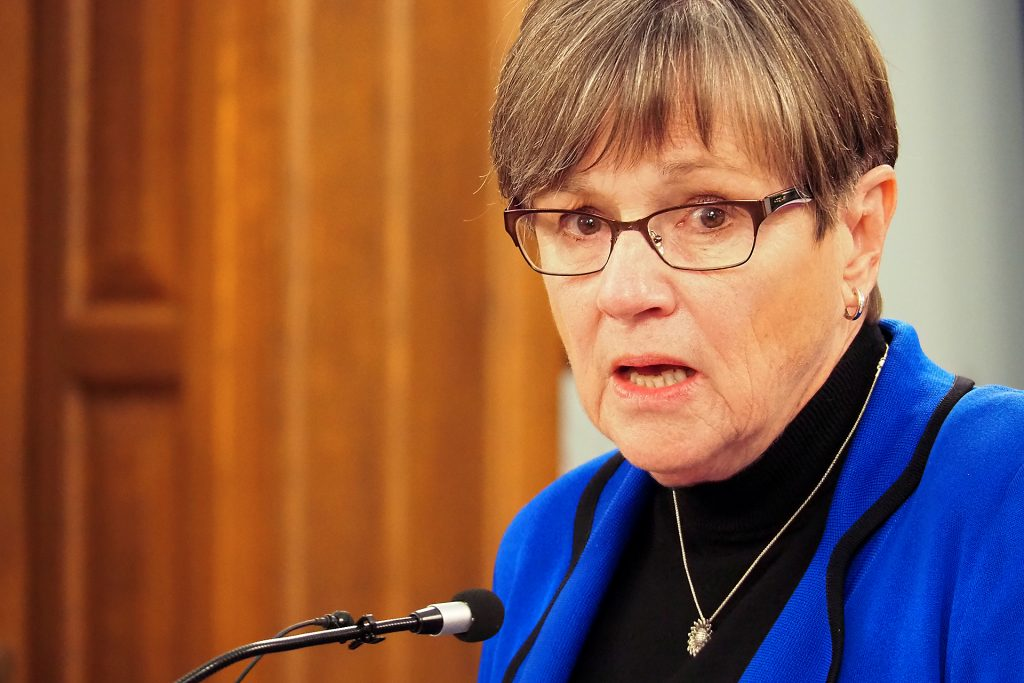 Democratic Gov. Laura Kelly and the Republican-dominated Kansas Legislature convene the annual session Monday at the Capitol with budget, tax, health and other issues on an agenda made wider due to the shortened 2020 session. (Sherman Smith/Kansas Reflector)