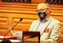 Rep. Brad Ralph, a Republican from Dodge City, said the COVID-19 pandemic highlighted the concentration of State Finance Council power in hands of urban legislators and the lack of voice by rural lawmakers. (Sherman Smith/Kansas Reflector)