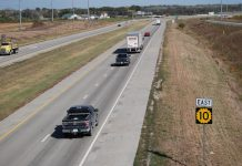 The Kansas Department of Transportation reports the rate of traffic fatalities in Kanssa increased from January throuugh September 2020 compared to the first nine months of 2019, despite a 10.2% reduction in highway miles traveled in the state due to the COVID-19 pandemic. (Tim Carpenter/Kansas Reflector)