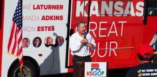 U.S. Sens. Jerry Moran and Roger Marshall, both Kansas Republicans, support legislation to reverse President Joe Biden's decision to halt construction of the Keystone XL pipeline. (Tim Carpenter/Kansas Reflector)