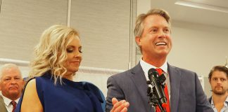 Republican Roger Marshall was elected in November to the U.S. Senate after defeating Democrat Barbara Bollier by leaning on Kansas' heavy GOP voter registration to overcame a financial disadvantage. (Sherman Smith/Kansas Reflector)
