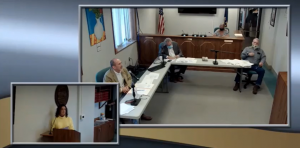 GOP Sen. Mark Steffen, while a member of the Reno County Commission in 2020, invited an essential oils marketer to speak to commissioners about how people might protect themselves in the era of COVID-19. (Screenshot/Kansas Reflector)