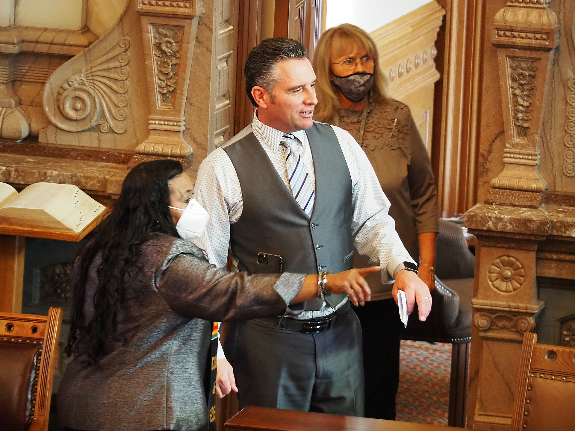 One Kansan's death helps place politics of masks at Capitol into perspective