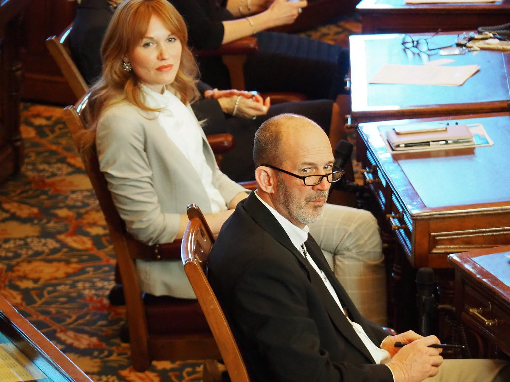 Sen. Mark Steffen, a Hutchinson Republican, took aggressive positions on COVID-19 as a member of the Reno County Commission before assuming office in the Kansas Senate. (Sherman Smith/Kansas Reflector)