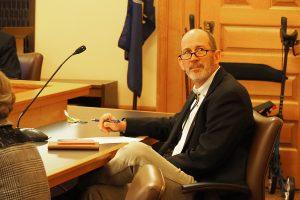 Sen. Mark Steffen , a Republican from Hutchinson, said (Sherman Smith/Kansas Reflector)