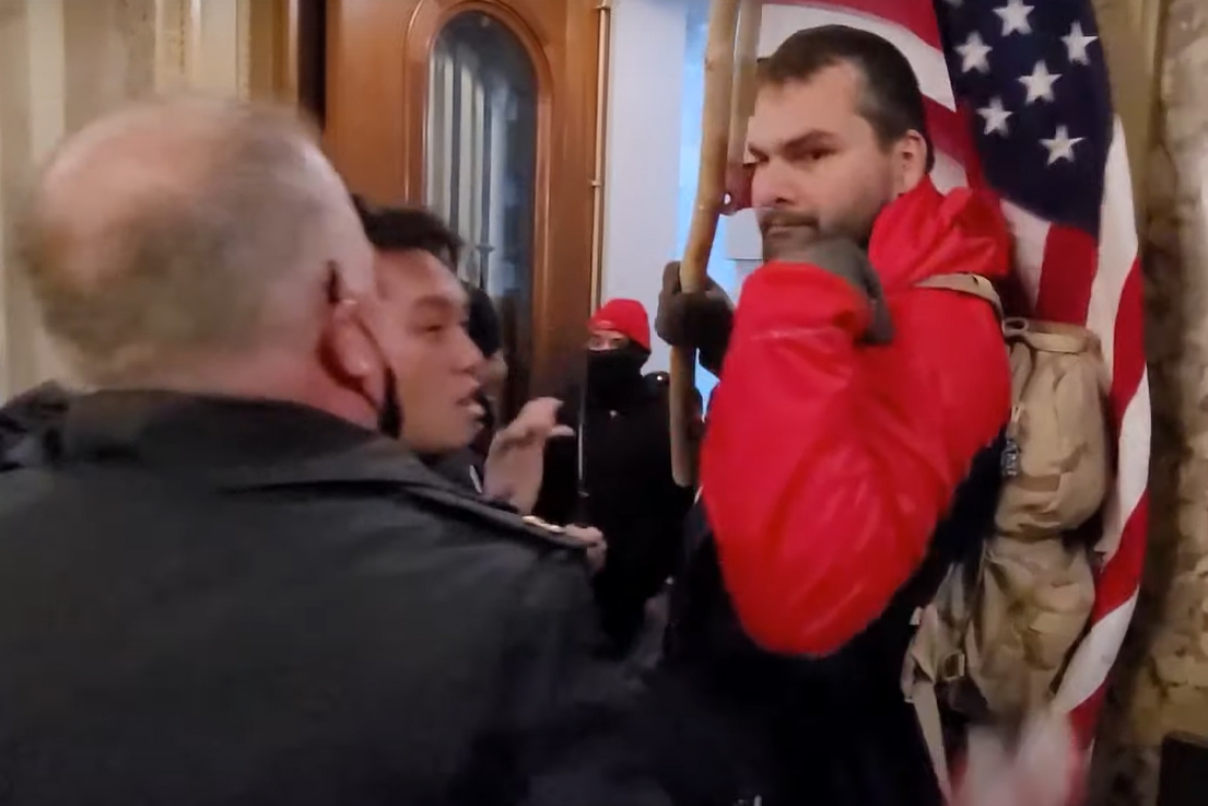 Former Topeka City Council candidate faces federal charges from violence at U.S. Capitol