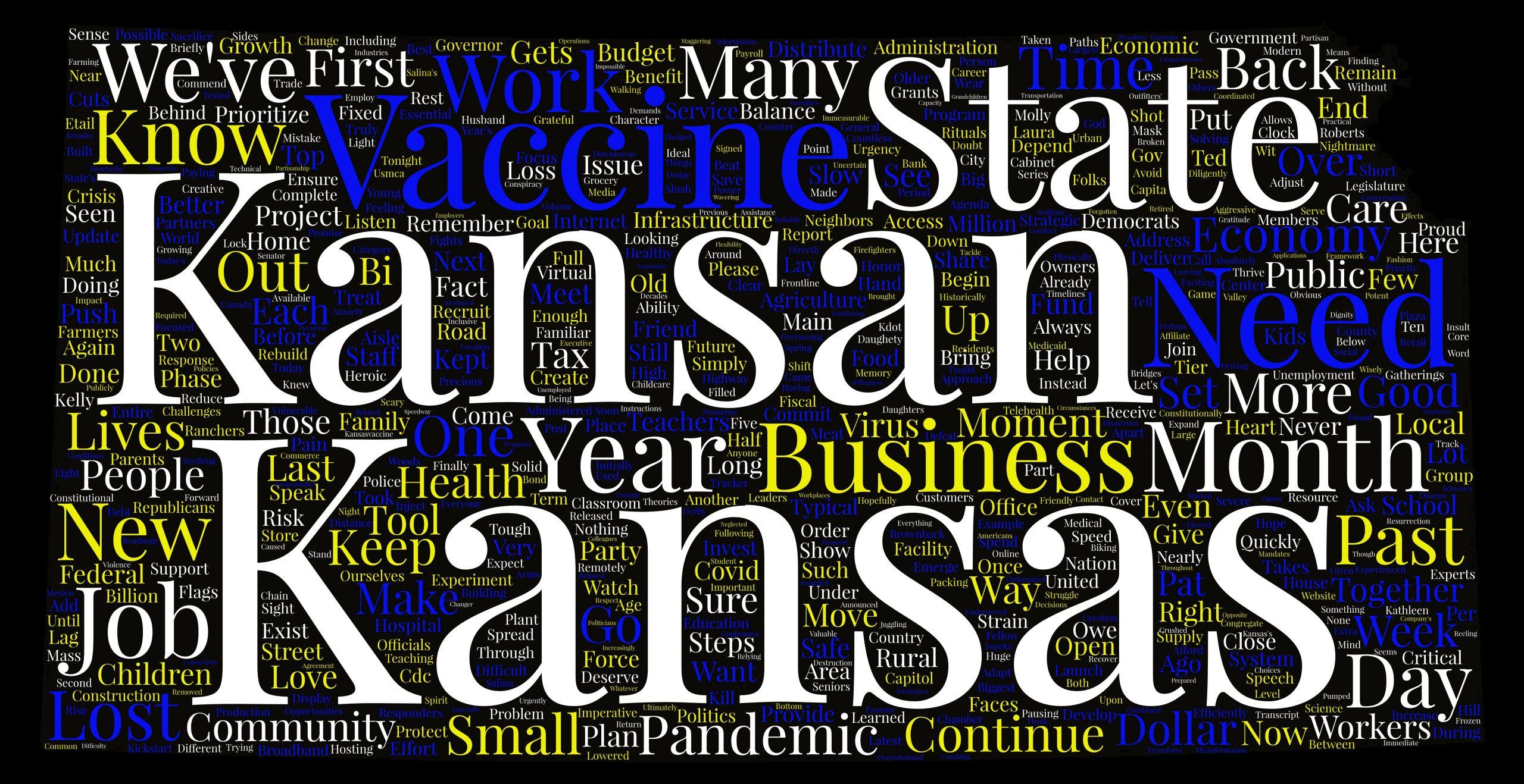State of the State 2021: Kansas Gov. Laura Kelly's full speech transcript