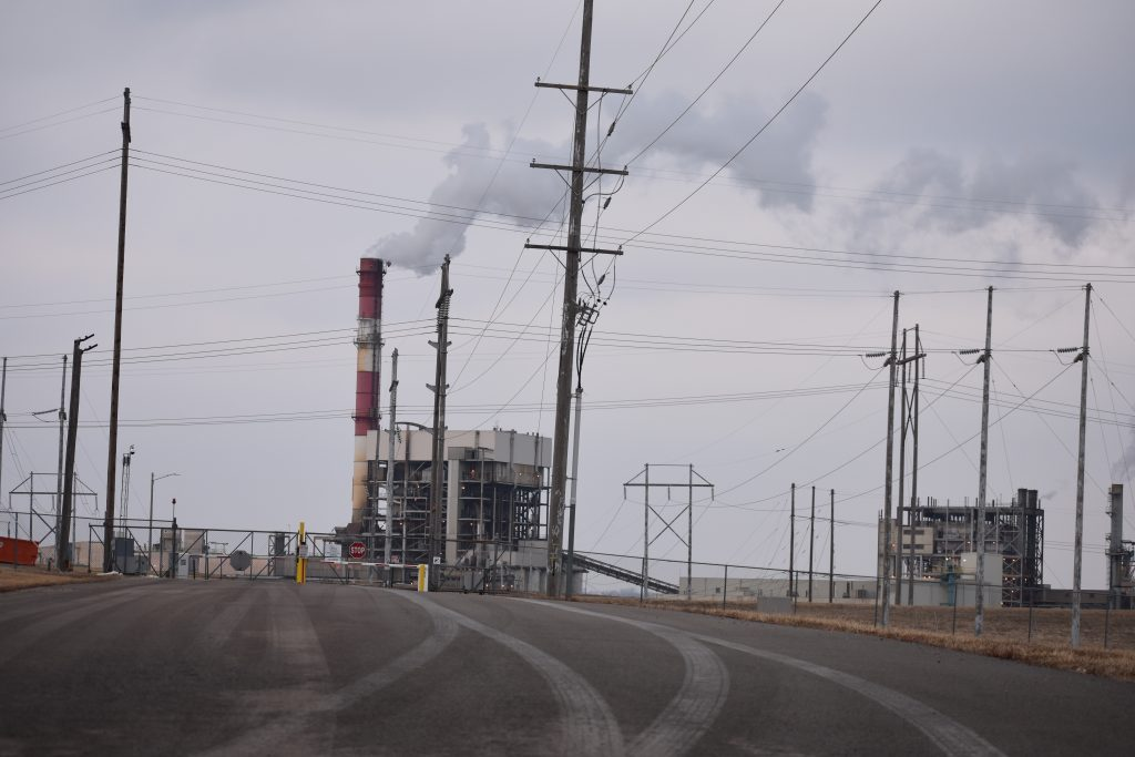 Evergy's coal-fired power plant in Lawrence, Kansas.