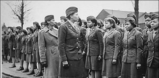 U.S. Sen. Jerry Moran, the Kansas Republican, introduced bipartisan legislation to award the Congressional Gold Medal to members of the Women's Army Corps assigned to the 6888th Central Postal Directory Battalion, the only Black, all-woman battalion to serve overseas during World War II. The battalion deployed to England and France in 1945. (Submitted/Kansas Reflector)