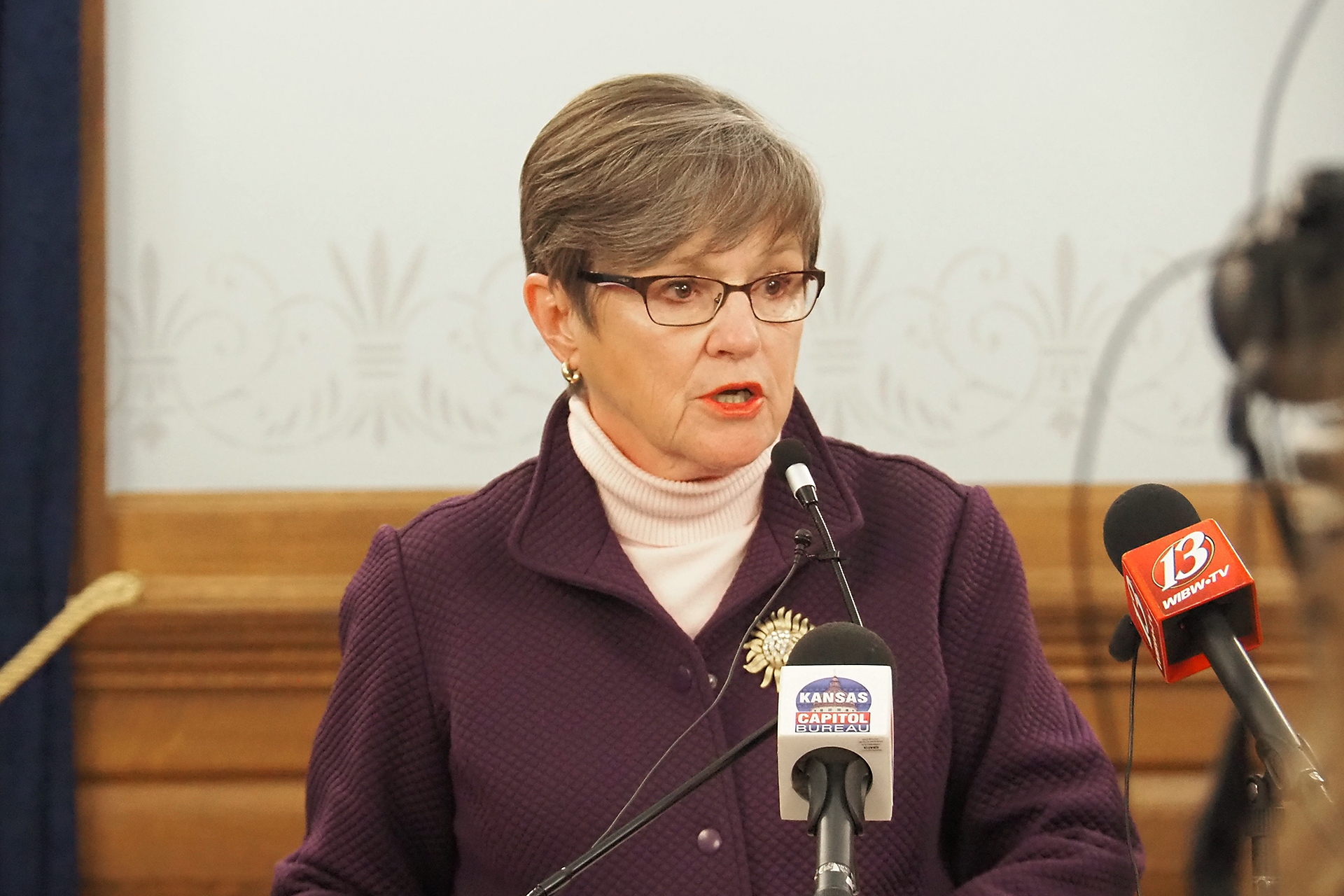 Gov. Laura Kelly vetoed Senate Bill 50 containing tax reform provisions sought by the Republican majority in the Legislature but labeled by the Democratic governor as