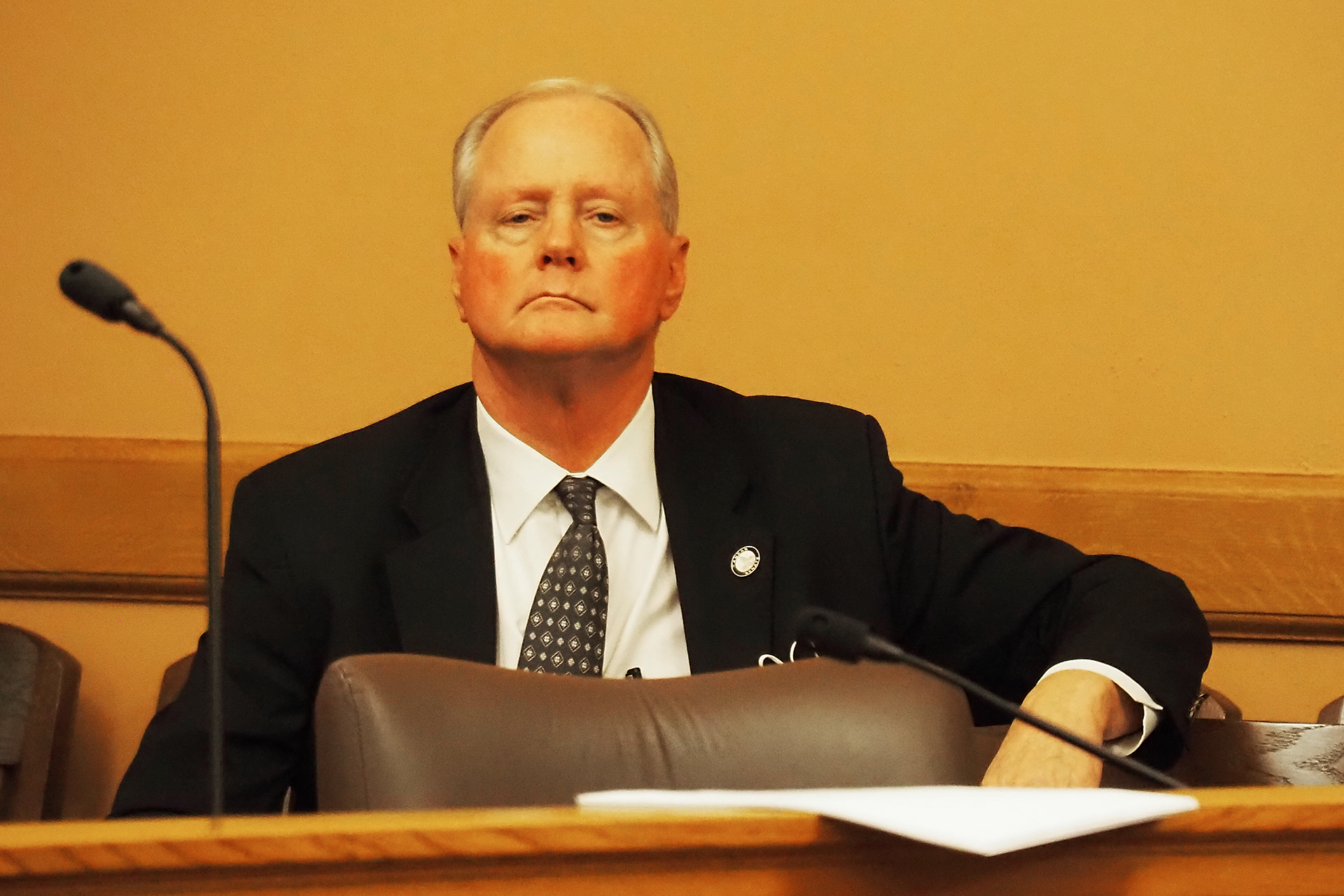 Court record shows Kansas Senate majority leader drove 90 mph in wrong direction while drunk