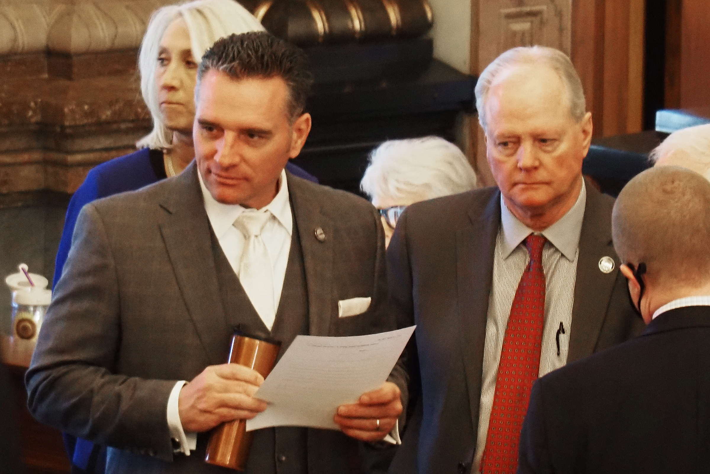 Kansas Senate majority leader had 0.17 blood alcohol level in wrong-way pursuit