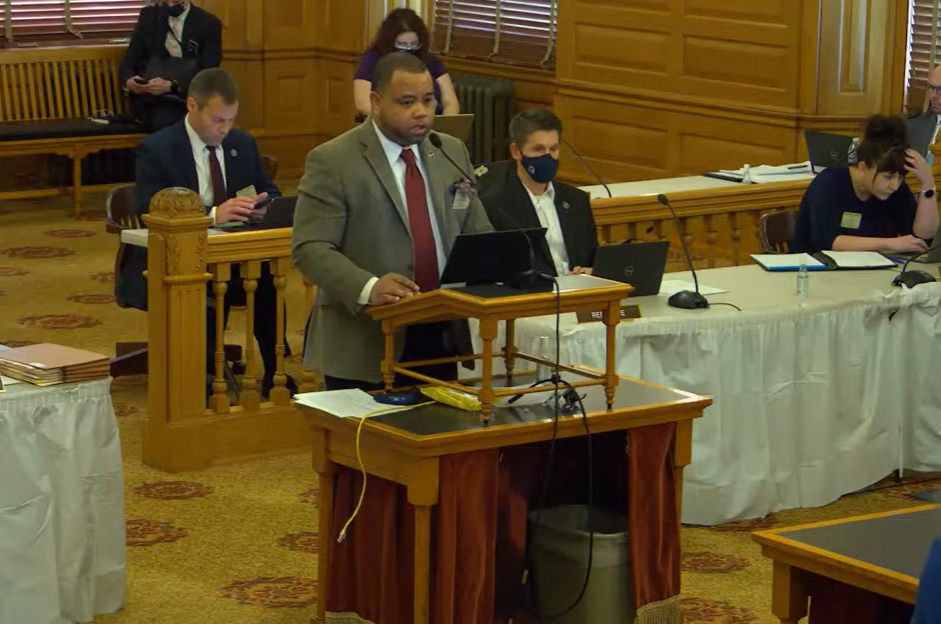 Rep. Patrick Penn, R-Wichita, urged House colleagues to support House Bill 2089 to compel the state Board of Education to lay the foundation to offer gun-safety curriculum for K-12 students endorsed by the National Rifle Association and the Kansas Department of Wildlife, Parks and Tourism.