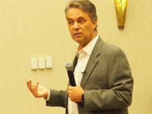Former Gov. Jeff Colyer, a candidate for the 2022 GOP gubernatorial nomination,
