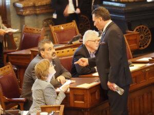 Senate President Ty Masterons, R-xxx . (Tim Carpenter/Kansas Reflector)