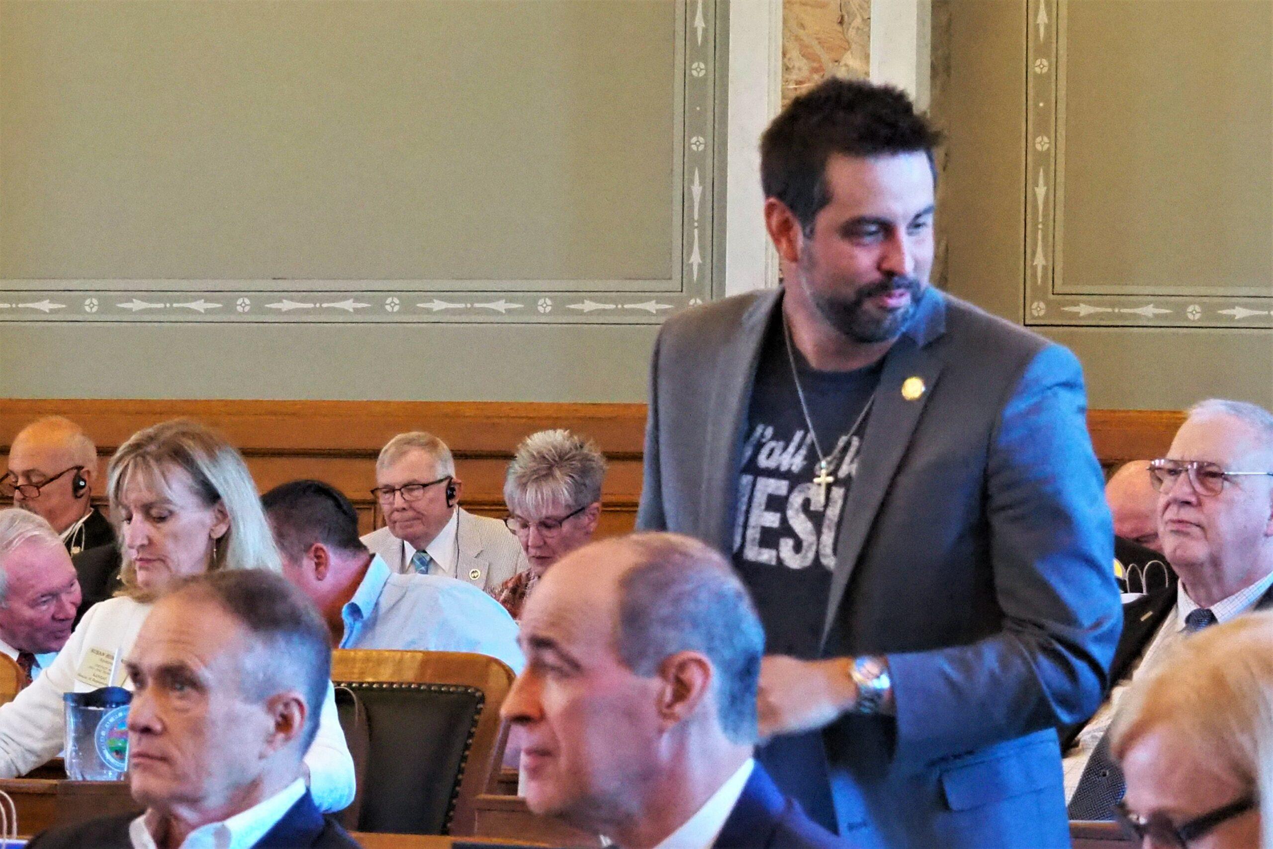 Kansas GOP lawmaker describes peculiar school incident as potential 'psychotic episode'