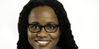 Stacey Knoell, who ran for a Kansas Senate seat in 2020, was appointed by Gov. Laura Kelly to serve as executive director of the Kansas African American Affairs Commission. (Submitted/Kansas Reflector)