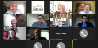 The Kansas Governmental Ethics Commission voted to issue a $5,000 fine to against Wichita anti-abortion activist Mark Gietzen for failure to timely submit campaign-finance reports after losing the 2019 mayoral race. (Screen capture/Kansas Reflector)