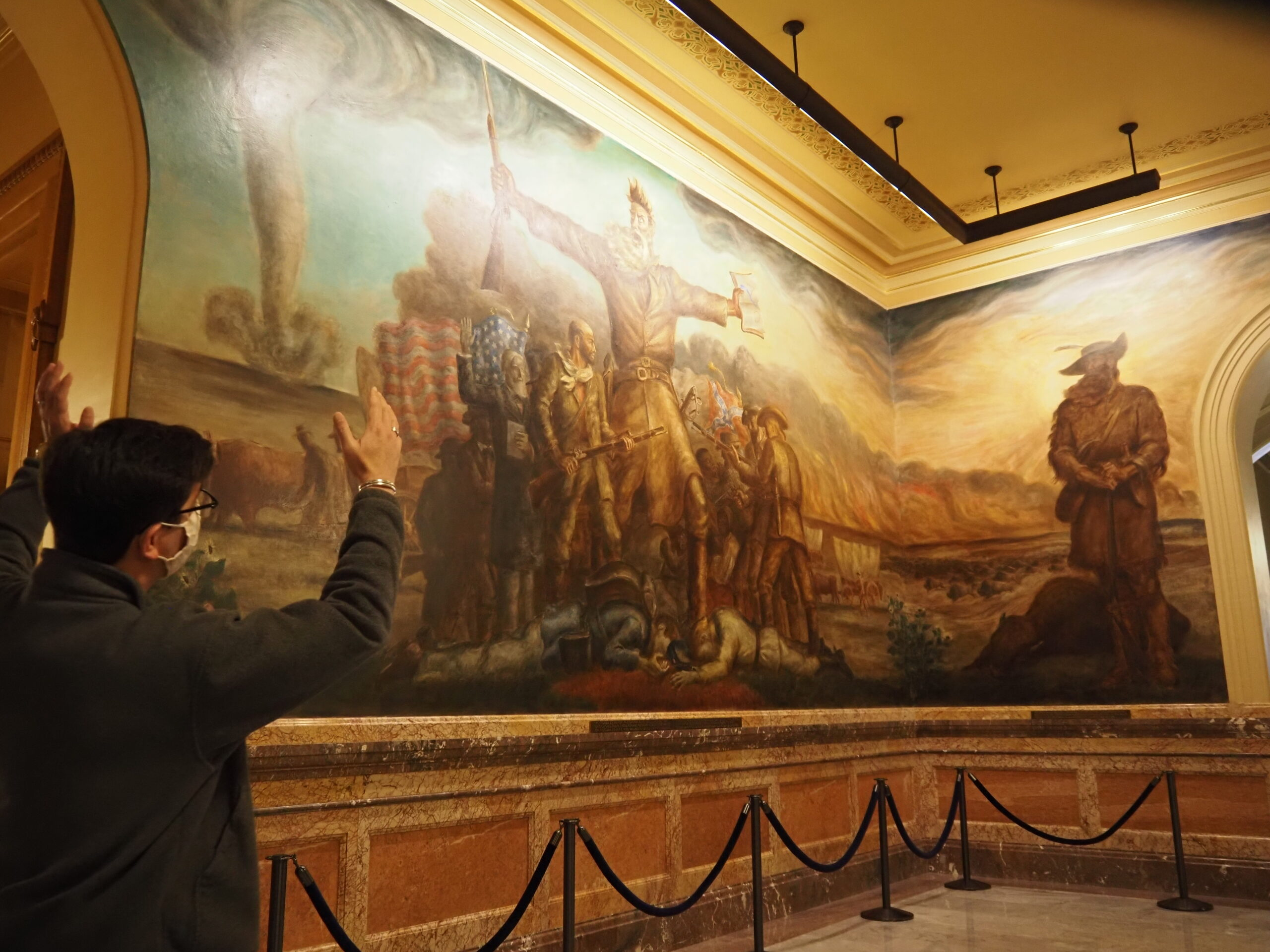 PHOTOS: A treasure trove of Kansas history as the Statehouse prepares to reopen for tours