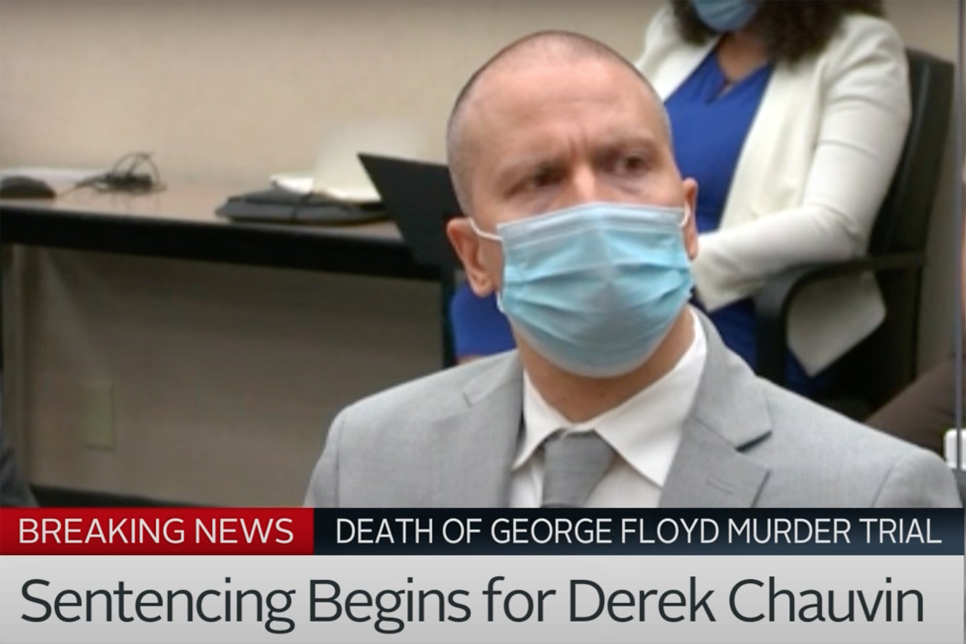 Derek Chauvin sentenced to 22.5 years in prison for murder of George Floyd