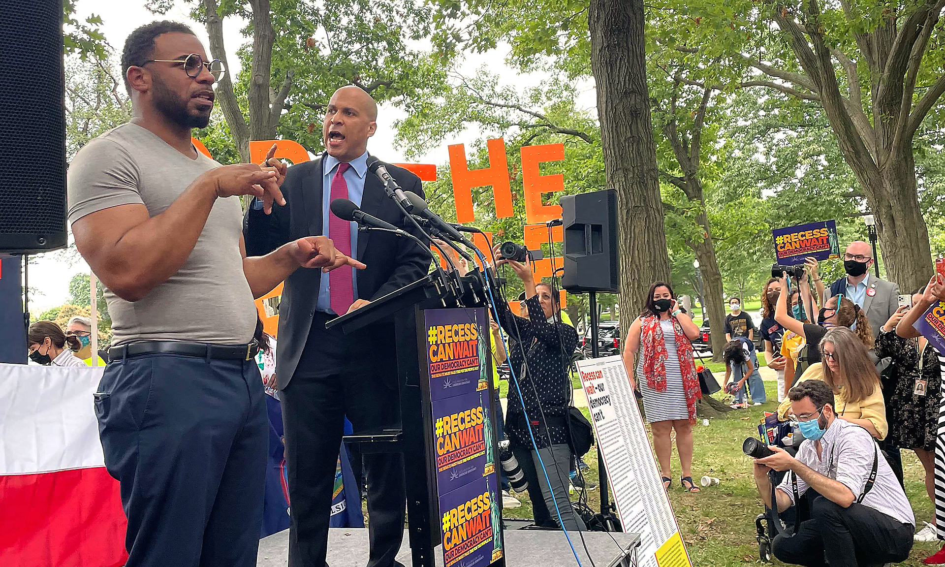 State legislators rallying in D.C. urge Congress to act on voting rights