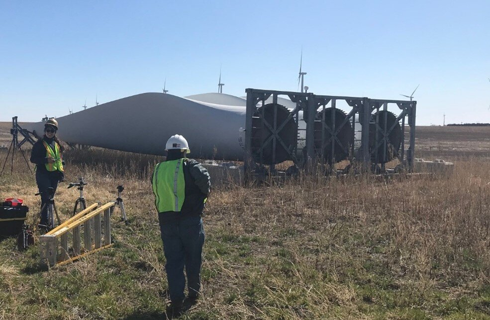 Work to repurpose wind turbine blades spotlights Kansas as green economy leader
