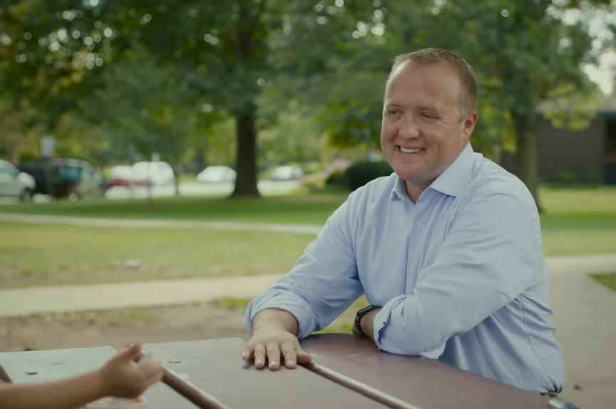 Lawrence attorney Chris Mann, a former prosecutor and police officer, entered the race for the Democratic Party's nomination for attorney general in Kansas. (Screen capture/Kansas Reflector)