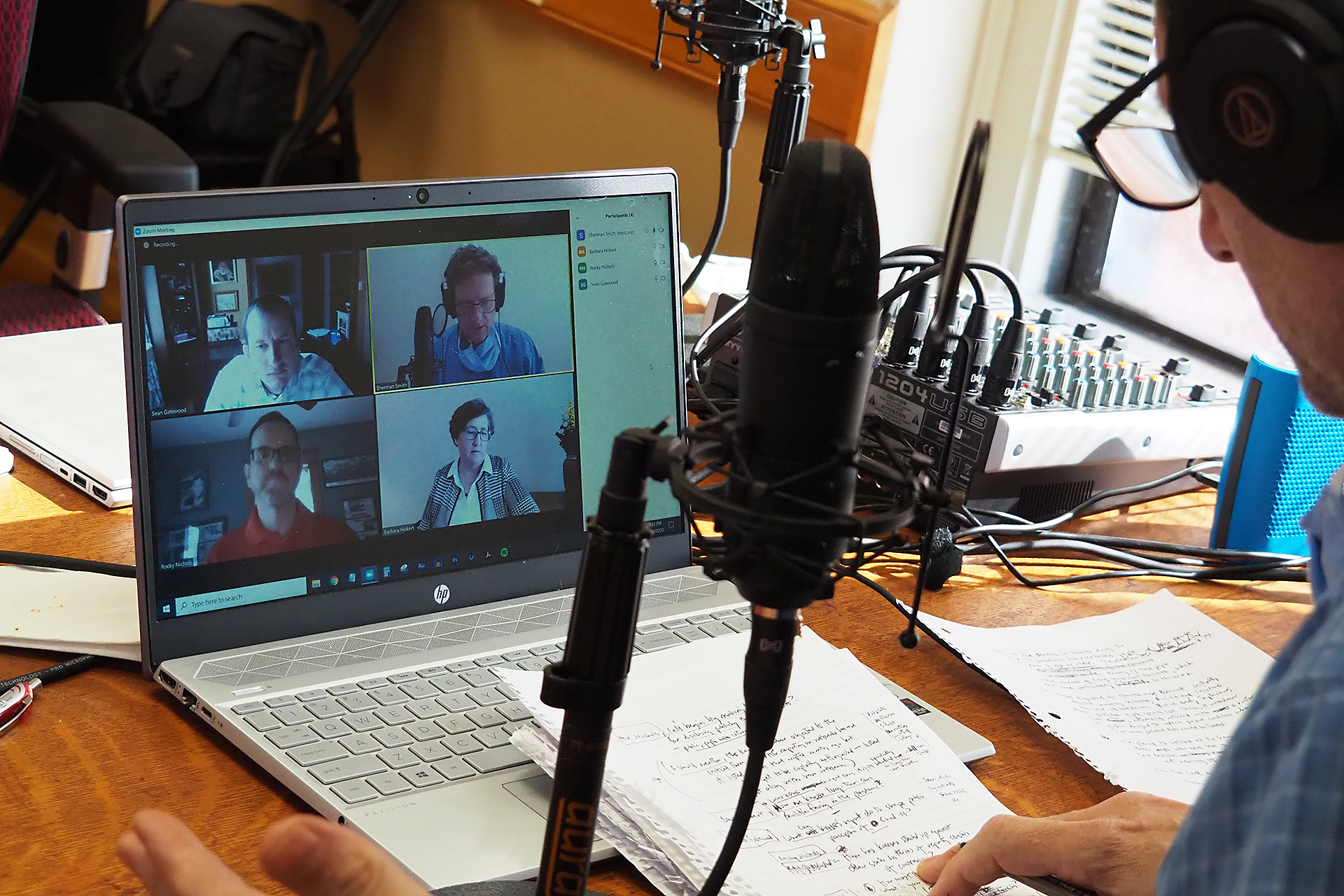 Audio Astra: Podcasts reflect changing face of media and journalism
